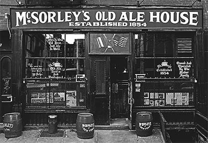 The Historic McSorley's Pub
